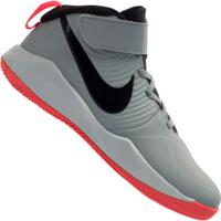 Tênis Nike Team Hustle D 9 Gs - Infantil - Cinza/Preto