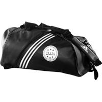 Bolsa Mochila Training 2In1 Bag Wako Preto/Branco Adidas