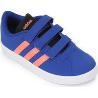 Tênis Infantil Adidas Vl Court 2.0 Cmf C - Unissex-Azul