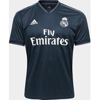 Camisa Real Madrid Away 2018 S/N° Torcedor Adidas Masculina - Masculino