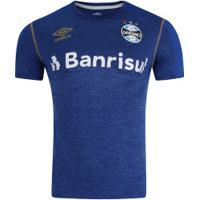 Camisa Do Grêmio Aquecimento 2019 Umbro - Masculina - Azul