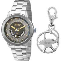 Kit Relógio Masculino Condor Co2115Uwk3P