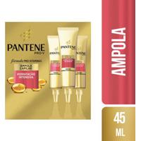 Kit 3 Ampola De Tratamento Pantene Cachos Hidra-Vitaminados 15Ml
