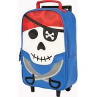 Mochila Pequena Stephen Joseph De Rodinhas Pirata Azul