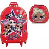 Kit 3D Lol Mochila E Lancheira Mc