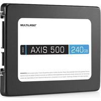 "Memória Ssd Axis 500 Ss200 240Gb Sata Iii 2,5"" Multilaser"
