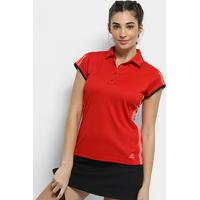 Camisa Polo Adidas Club 3 Listras Feminina - Feminino