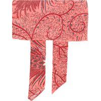 Etro Hairband Com Estampa Floral - Rosa