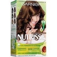 Coloração Nutrisse Garnier 43 Cappuccino Castanho - Unissex-Incolor