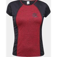 Camiseta Flamengo Gone Feminina - Feminino-Preto+Vermelho