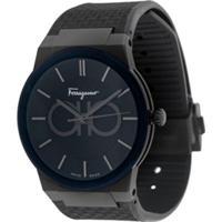 Salvatore Ferragamo Watches Relógio Sapphire - Preto