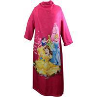 Cobertor Com Mangas Disney Princesas