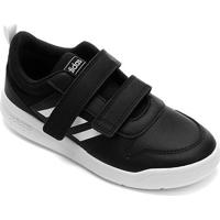 Tênis Infantil Adidas Tensaurus Velcro - Unissex-Preto+Branco