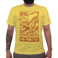 No Vibes - Camiseta Clássica Masculina