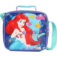 Lancheira Térmica Disney Ariel Pequena Sereia Bubbles