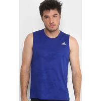 Regata Adidas Response Masculina - Masculino-Azul