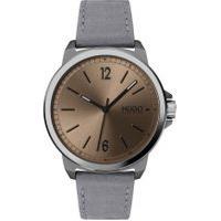 Relógio Hugo Boss Masculino Couro Cinza - 1530065