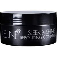Keune Sleek & Shine Rebonding Conditioner - Máscara De Reconstrução 200Ml - Unissex-Incolor