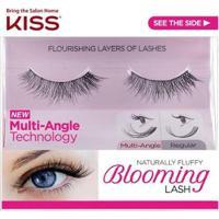 Cílios Postiços Kiss New York Blooming Lash Tulip - Feminino-Preto