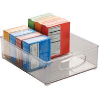 Organizador Cozinha Plastico Transparente 20X25X7,5Cm