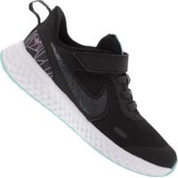 Tênis Nike Revolution 5 Rebel Psv Feminino - Infantil - Preto/Aqua