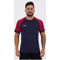 Camisa Topper Graphic Ultra Marinho E Vermelha