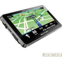 """Gps (Navegador) - Multilaser - Tracker 2 - Tela De 7"""" - Com Tv/Fm - Cada (Unidade) - Gp015"""