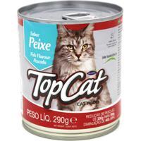 Ração Top Cat Para Gatos Sabor Peixe 290G