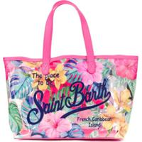 Mc2 Saint Barth Kids Bolsa Tote Saint Barth Paradise Floral - Rosa