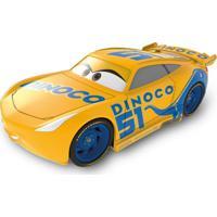Carrinho De Fricção - Disney - Pixar - Cars 3 - Dinoco Amarelo - Toyng - Masculino
