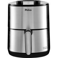 Fritadeira Elétrica Air Fry 3.2L 1500W Inox Philco 220V