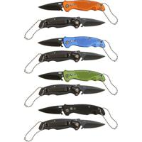Canivete Azteq Flip Lâmina De Aço Inox E Trava De Segurança 12 Unidades - Unissex