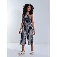 Macacão Pantacourt Lily Fashion