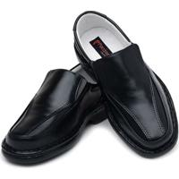 Sapato Masculino Confort Pele Carneiro Palmilha Massageadora Ranster - Masculino