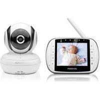 """Babá Eletrônica Motorola Mbp36S Tela De 3,5"""" Monitoramento Temperatura Ambiente"""
