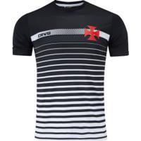 Camiseta Do Vasco Da Gama Date 19 - Masculina - Preto/Branco