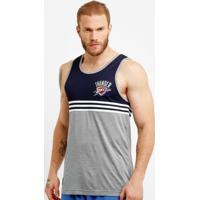 Camiseta Regata Adidas Nba Wntr Oklahoma City Thunder - Masculino