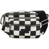 Saint Laurent Checkered Belt Bag - Preto