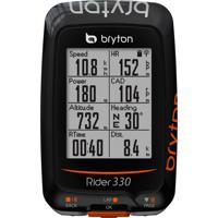 Ciclocomputador Gps Bryton Rider 330E 72 Funções Preto