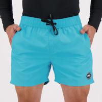 Short Hd Volley Azul E Preto