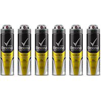 Kit Desodorante Rexona Men V8 48 Horas Aerosol Masculino 150Ml Com 6 Unidades - Masculino