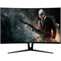 Monitor Gamer Gamemax 27´ Curvo, 144Hz, 1Ms, Led, Displayport/Hdmi, Full Hd, Freesync, Vesa: 100Mm, Preto - Gmx27C144Br