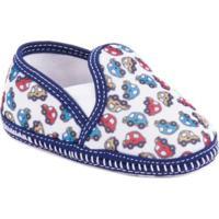 Sapato Bêbê Dulupe - Masculino-Azul