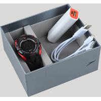 Kit De Relógio Digital Speedo Masculino + Carregador Portátil - 65098G0Evnp2Ka Preto - Único