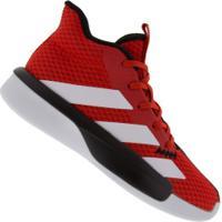 Tênis Adidas Pro Next K - Masculino - Vermelho/Branco