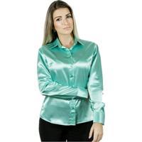 Camisa Pimenta Rosada Caty - Feminino-Verde Claro