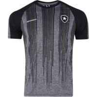 Camiseta Do Botafogo Motion - Masculina - Cinza/Preto