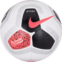 Bola De Futebol De Campo Nike Premier League 19/20 Strike - Branco/Preto