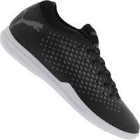 Chuteira Futsal Puma Future 19.4 Ic - Adulto - Preto