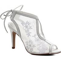 Sandália Couro Shoestock Bride Lace Noiva Feminina - Feminino-Branco